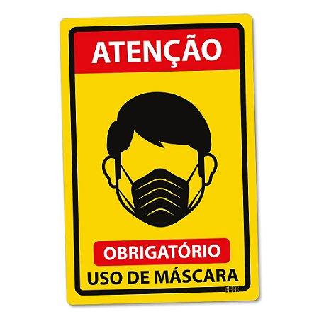 Placa Decorativa 24x16 Use Máscara - PADRÃO
