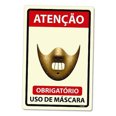 Placa Decorativa 24x16 Use Máscara - KILLER