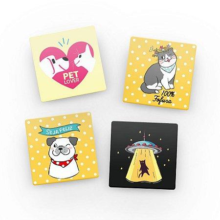 Porta Copos de acrílico - PET LOVER