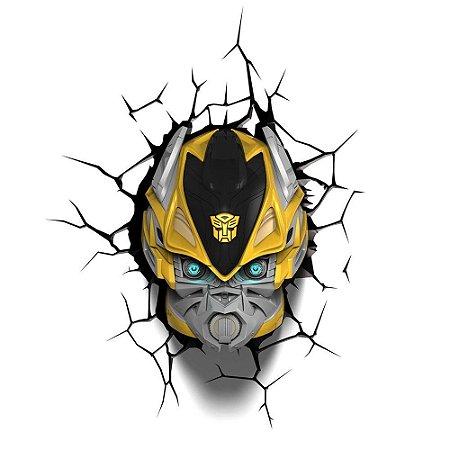 Luminária 3D Light FX Transformers Bumble Bee
