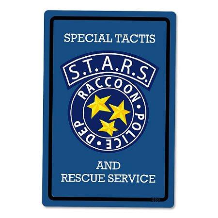 Placa Decorativa 24x16 - STARS