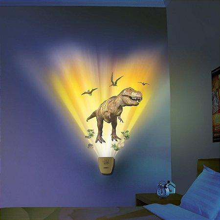 Luminária Uncle Milton Dinossauro Wild Walls