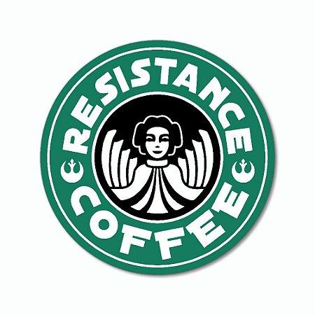 Placa Decorativa 20x20 - RESISTENCE COFFEE