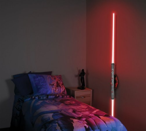 Luminária Uncle Milton Star Wars Sabre De Luz Darth Maul
