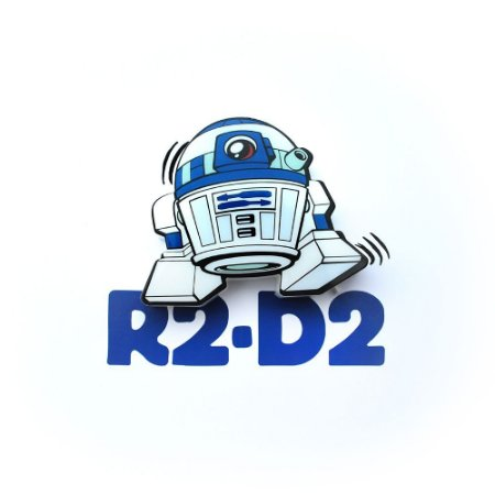 Mini Luminária 3D Light FX Star Wars R2-D2