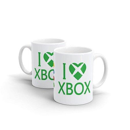 Caneca Cerâmica - I LOVE XBOX