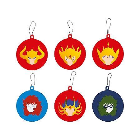 Enfeites Árvore de Natal CAVALEIROS 02 - Beek
