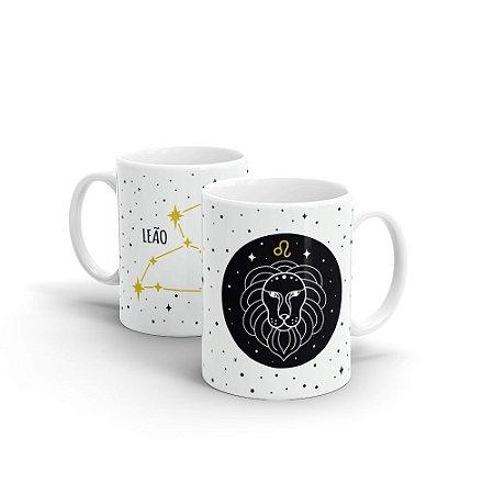 Caneca Cerâmica - Signo Leão