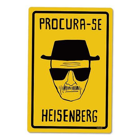 Placa Decorativa 24x16 - Heisenberg