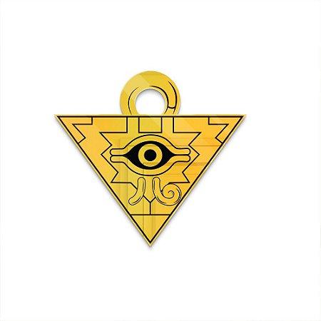 Espelho Decorativo feito em Acrílico Espelhado Dourado (40x35cm) - Faraó
