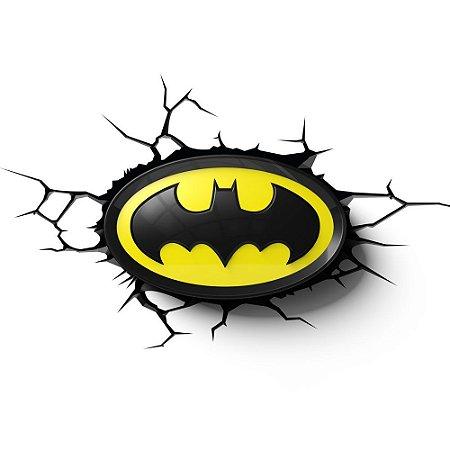 Luminária 3D Light FX Logo Batman