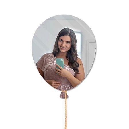 Espelho Decorativo feito em Acrílico Espelhado (30x40cm) - Balão