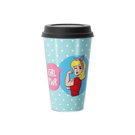 Copo Café 500ml - GIRL POWER