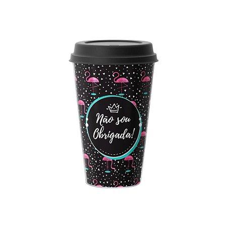 Copo Café 500ml - NÃO SOU OBRIGADA