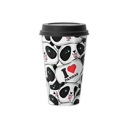 Copo Café 500ml - I Love Pandas