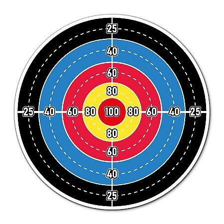Alvo para NERF 30x30cm - Preto e Azul