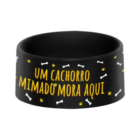 Comedouro ou Bebedouro Pet - CACHORRO MIMADO