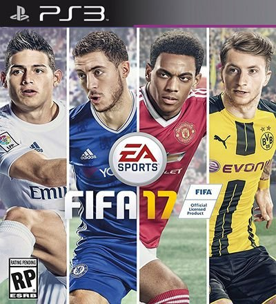 Fifa 17 em ingles - PS3 Mídia Digital