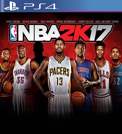 NBA 2k17 - PS4 Mídia Digital