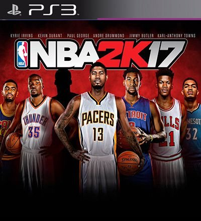 NBA 2k17 - PS3 Mídia Digital