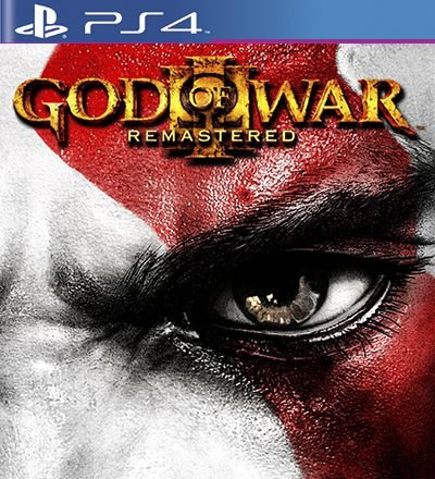 God of War 3 Remastered - PS4 Mídia Digital