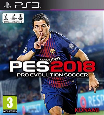 PES 2018 Pro Evolution Soccer - PS3 Mídia Digital