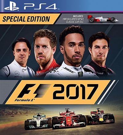 F1 2017 Special Edition - PS4 Mídia Digital