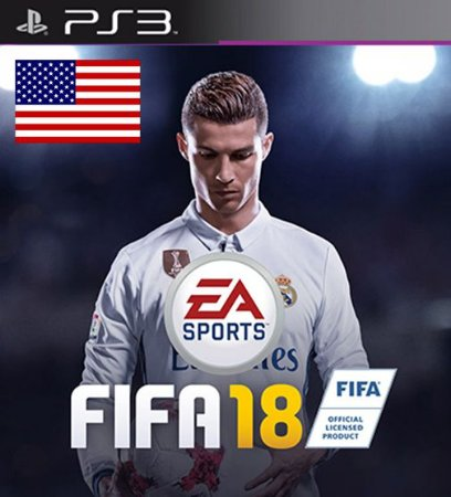 Fifa 18 em Ingles USA - PS3 Mídia Digital