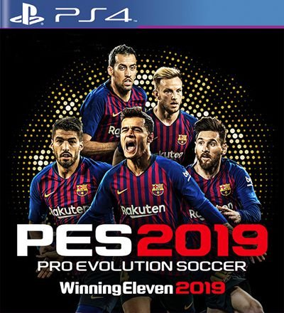 PES 2019 - PS4 Mídia Digital