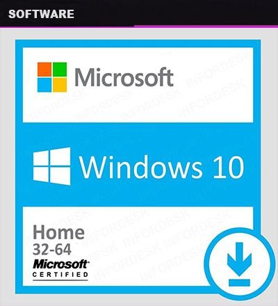 Windows 10 HOME 32/64 Licença ESD Original Digital Certificada - PC