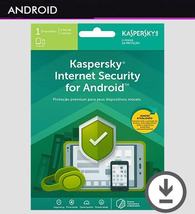 KASPERSKY INTERNET SECURITY 2019 Android 1 Dispositivo 1 Ano Original