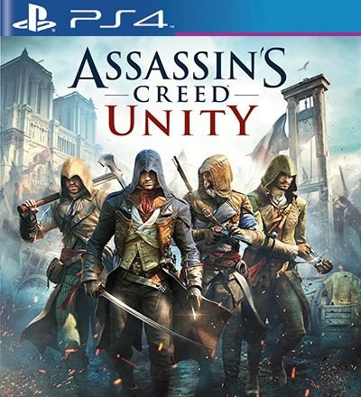 Assassins Creed Unity - PS4 Mídia Digital