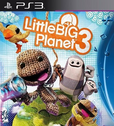 Little Big Planet 3 - PS3 Mídia Digital