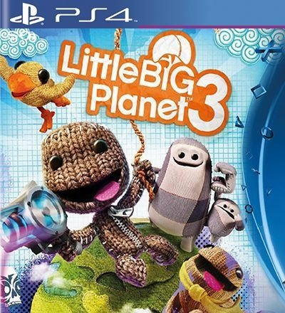 Little Big Planet 3 - PS4 Mídia Digital