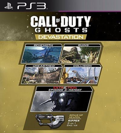 Devastation Mapas PSN DLC Expansão CoD Ghosts - PS3