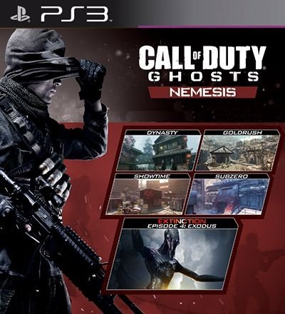 Nemesis Mapas PSN DLC Expansão CoD Ghosts - PS3