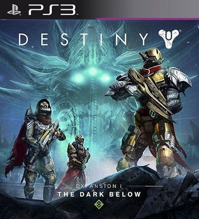 The Dark Below Expansion 1 DLC PSN Destiny - PS3