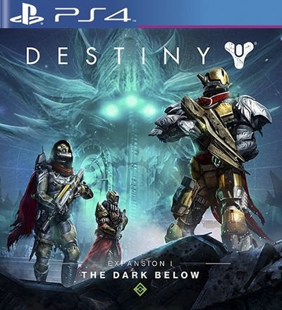 The Dark Below Expansion 1 DLC PSN Destiny - PS4