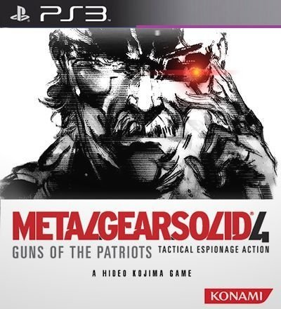 Metal Gear Solid 4 Guns Of The Patriot - PS3 Mídia Digital