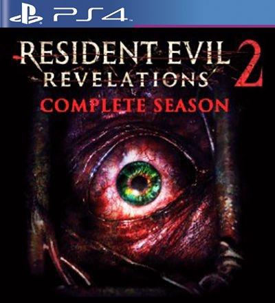 Resident Evil Revelations 2 Edição Completa - PS4 Mídia Digital