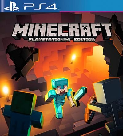 Minecraft Playstation 4 Edition - PS4 Mídia Digital