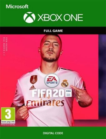 Fifa 20 Xbox One Digital Original - Codigo 25 Digitos