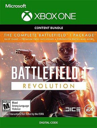 Battlefield 1 Revolution Complete Xbox One Live Digital Original - Codigo 25 Digitos
