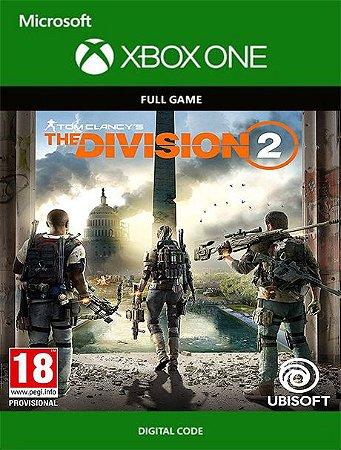 Tom Clancys The Division 2 Xbox One Live Digital Original - Codigo 25 Digitos
