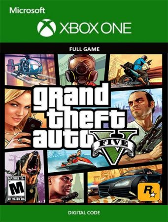 GTA5 Grand Theft Auto V Xbox One Live Digital Original - Codigo 25 Digitos
