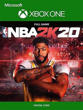 NBA 2K20 Xbox One Live Digital Original - Codigo 25 Digitos