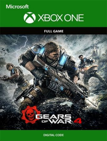 Gears Of War 4 Xbox One Live Digital Original - Codigo 25 Digitos