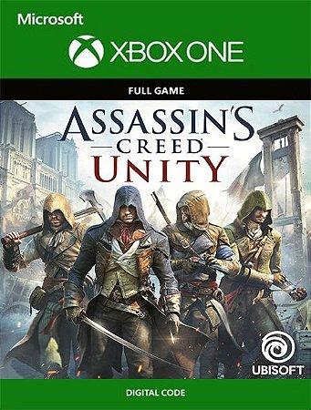 Assassin's Creed: Unity Xbox One Live Digital Original - Codigo 25 Digitos