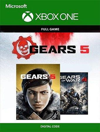 Gears 5 + Gears of War 4 Bundle Xbox One Live Digital Original - Codigo 25 Digitos