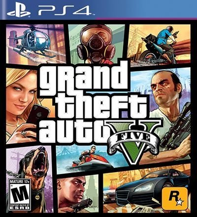 GTA 5 Grand Theft Auto V - PS4 Mídia Digital